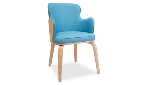 Ariane Ské - Boom arm chair upholstered